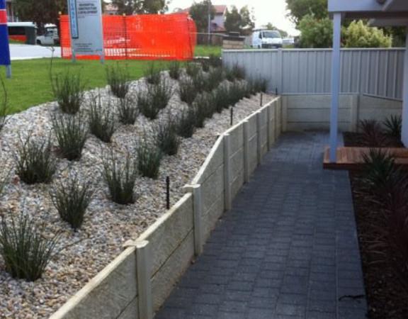 retaining walls perth